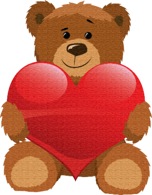 love bear 2 psd vector graphic. Black Bedroom Furniture Sets. Home Design Ideas