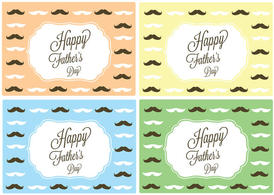 Free Vector Happy Father's Day Card