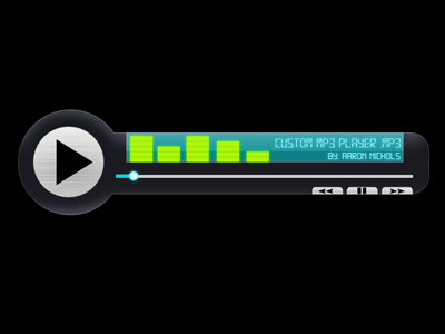 MP3 Player UI