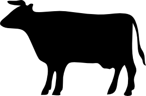Cow Silhouette 3