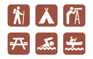 Free Vector Camping Icons