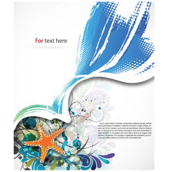 SUMMER ABSTRACT VECTOR BACKGROUND ILLUSTRATION.eps