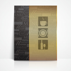 Free vector about vector classic menu template