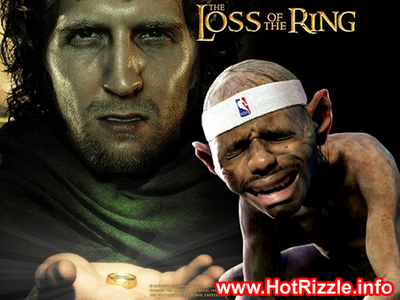 Lebron & Dirk (Lord of the rings spoof) HD Stock PSD