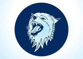 Vector Wolf Icon