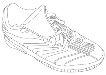 Adidas Shoe Image Vector Pack