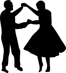 Dancing Couple Fifties