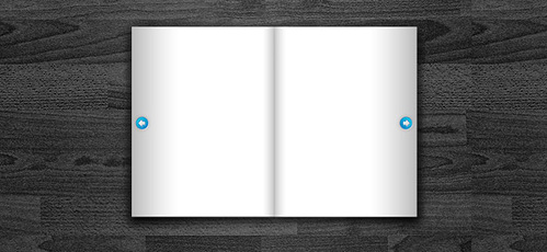 Free Book PSD Template