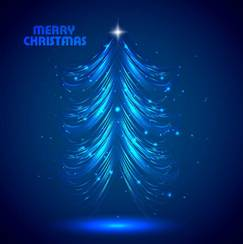 A gorgeous bright Christmas background vector-2