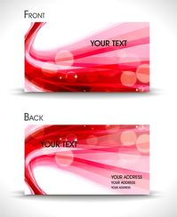 dynamic abstract business card templates