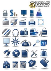 Free Vector Icon Set