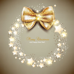Christmas card background vector-3