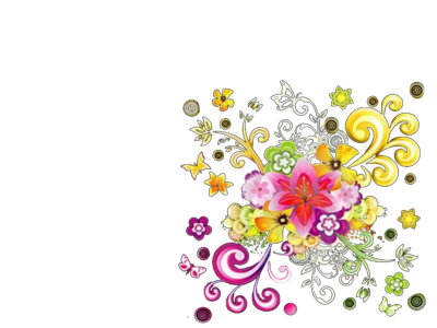 Flower Vector PSD