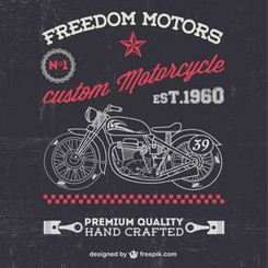 Vintage motorcycle free for downlaod