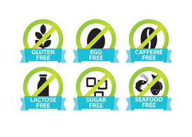 Food Allergy Icons