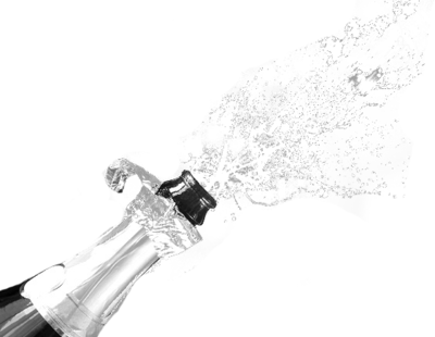 Champagne with fizz PSD