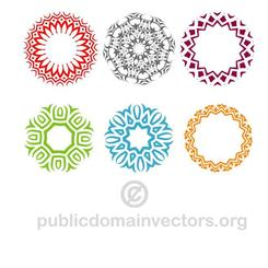 DECORATIVE VECTOR SHAPES.eps