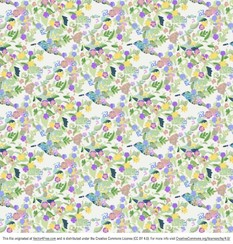Funky Flowers Background