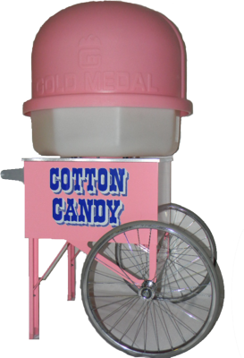 Cotton Candy Stand PSD
