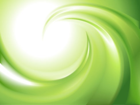 Abstract Green Blur Swirl