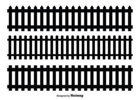 Picket Fence Vector Shapes
