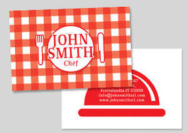 Chef / Restaurant / Eating House Business Card