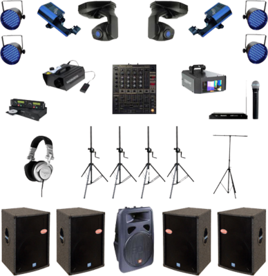 Stage equipment PSD