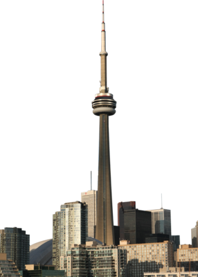 Toronto CN Tower PSD
