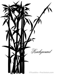 Bamboo Tree Silhouettes