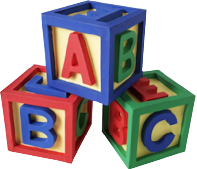 ALPHABET BLOCKS PSD