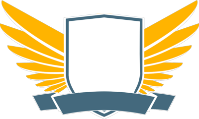 Shield with Wings PSD