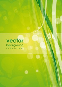 Stock Illustrations Green-Background-Vector