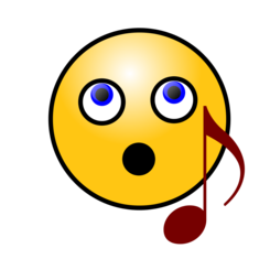 Singing Smiley Face