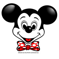 MICKEY MOUSE VECTOR IMAGE.eps