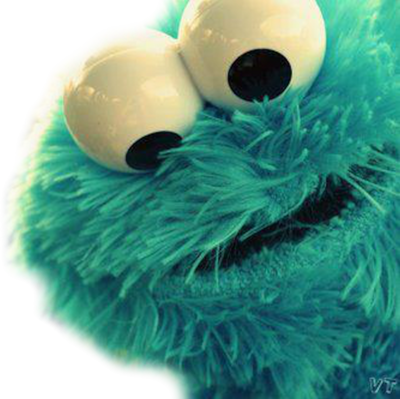 COOKIE MONSTER PSD