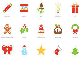 Festive Icon Vector Pack