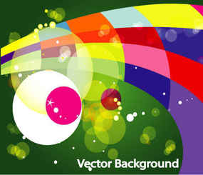 Colored design Bokha Green background