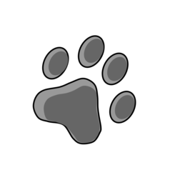 Free Cat Footprint Vector Graphic Vectorhq Com