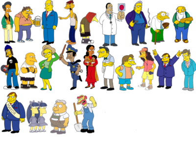 Simpsons Pack PSD