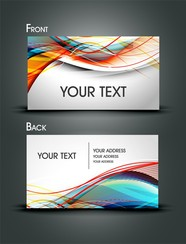 Dynamic Lines Of Business Card Templates