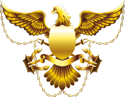 Gold Eagle Shield HIGH RES PSD
