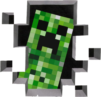 Creeper (Minecraft) PSD