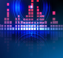 Free Abstract Blue Background Vector Element