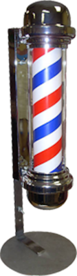 (Barber Shop Stripes)