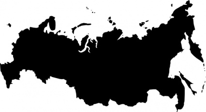 Babayasin Russia Outline Map