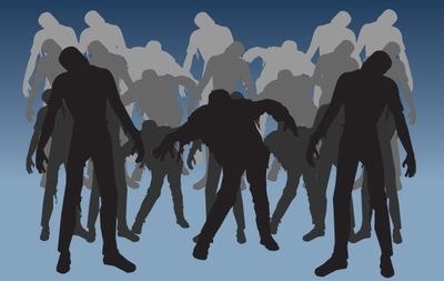 Horror Zombie Pack Silhouette