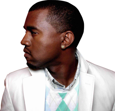 Kanye West Profile- Clean HQ - 1193x1155 PSD