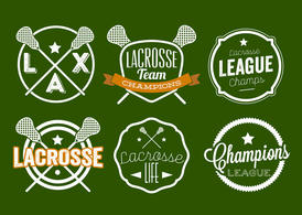 Lacrosse Label Set