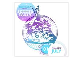 Free Summer Party Poster