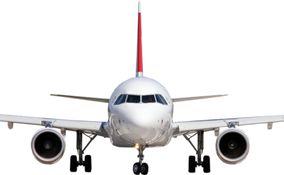 Plane Front View PSD